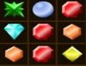 gemmes, pierres précieuses, réflexion, série de trois, série de 3, observation, alignement, puzzle