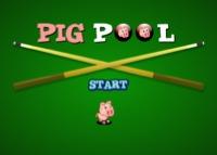 cochon, pool, billard, sport, adresse, billiard