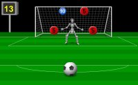 robot, tirs au but, soccer, foot