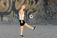 jonglage, ballon, foot, soccer