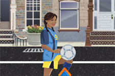 soccer, ballon rond, jonglage, football