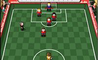 ballon, équipe, dribble, football