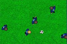 drible, tacle, ballon, football