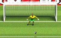 foot, penalty, tir au but, ballon, soccer