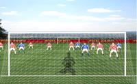 goal, gardien de but, équipe, soccer