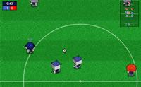 équipe de foot, ballon, soccer, footballeur