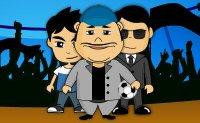 équipe de foot, entraineur, match