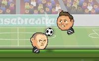 soccer, goal, footballeur