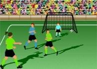 tir au but, match, soccer, équipe de football