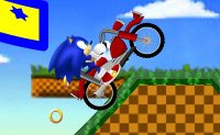 Sonic, aventure, moto, bécane, séga