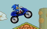 Sonic, vitesse, course,  moto