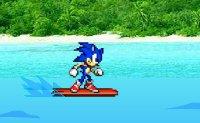 Sonic, surf, hedgehog, Robotnik