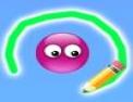 dessin, crayon, encercler
