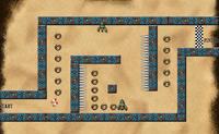 Sonic, labyrinthe, boule de feu, aventure