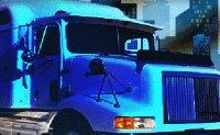 course de camions, semi-remorque, poids-lourd