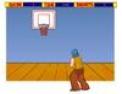 basketball, basketteur, panier, balle, sport, adresse