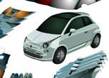 préparation auto, Fiat 500, tuning, automobile