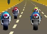 moto, motard, conduite, pilotage, course