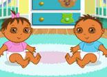 bébé, Dora, langues étrangères, jumeaux