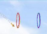 avion, adresse, acrobatie, pilote, aviateur