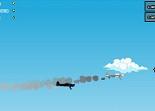 avion, course, cascadeur aérien, voltige