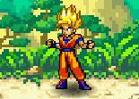 Dragon Ball Z, kaméhaméha, manga, Sangoku, super saian