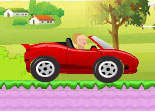 voiture, course, cabriolet, Barbie