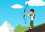 chasse, tir à l'arc, Ben 10
