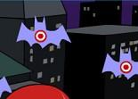 Batman, boxe, réflexe, chauve-souris