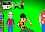 Ben 10, coloriage, dessin, héros