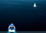 bateau, survie, hors board, offshore