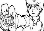 Gingka, manga Beyblade, coloriage