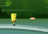 Sponge Bob, héros, repas