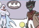 batman, héros, puzzle