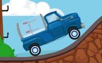 camion, livreur de lait, poids lourd, chrono