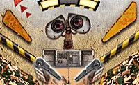 flipper, WALL-E, héros, pinball