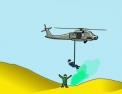 pilote, pilotage, hélicoptère, helico, guerre, militaire
