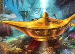 Ali Baba, objets cachés, lamp d'Aladdin