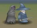 eigneur des anneaux, jeu combat, épées, sorcier, fantômes, hobbit, aventure