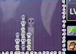 gore, arcade, têtes de morts