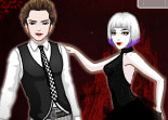 habillage, mode, styliste, fashion, vampire
