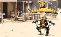 Tir, sheriff, hors la loi, bandits, pistolet, western, cowboy