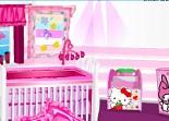 Hello Kitty, décoration, chambre, décoratrice d'intérieur