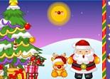 Noël, Christmas, enfant, Père Noël