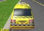 taxi, course de taxi, voiture, bolide, pilotage, 3D