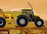 tractor, conduite champêtre, tracteur