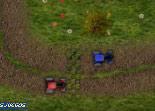 tracteur, course, tractor