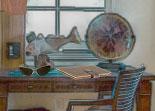 observation, bureau, objets cachés