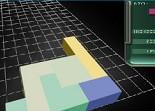 tetris, arcade, emboitement, 3D