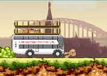 bus, car, autocar